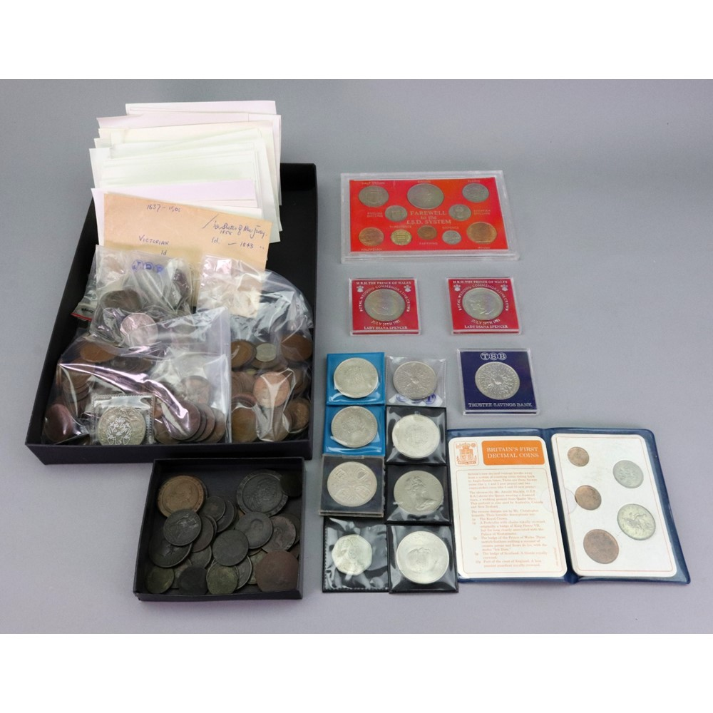 A large collection of British coinage... Image