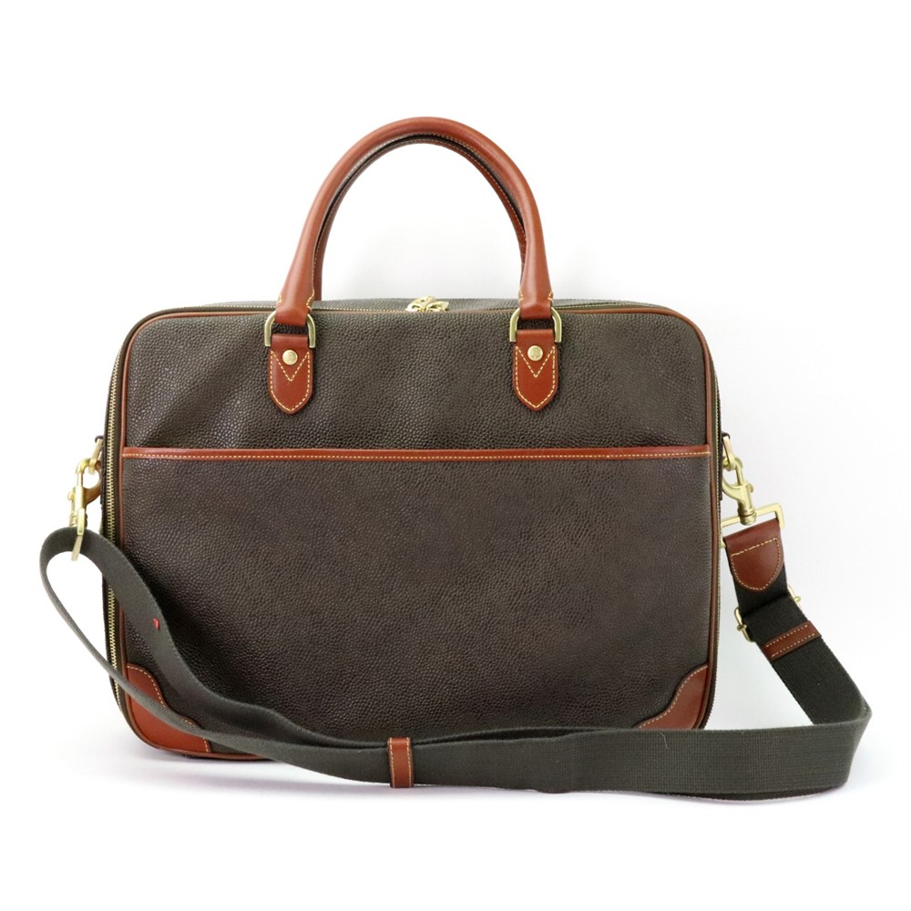 Mulberry; a brown leather travelling... Image