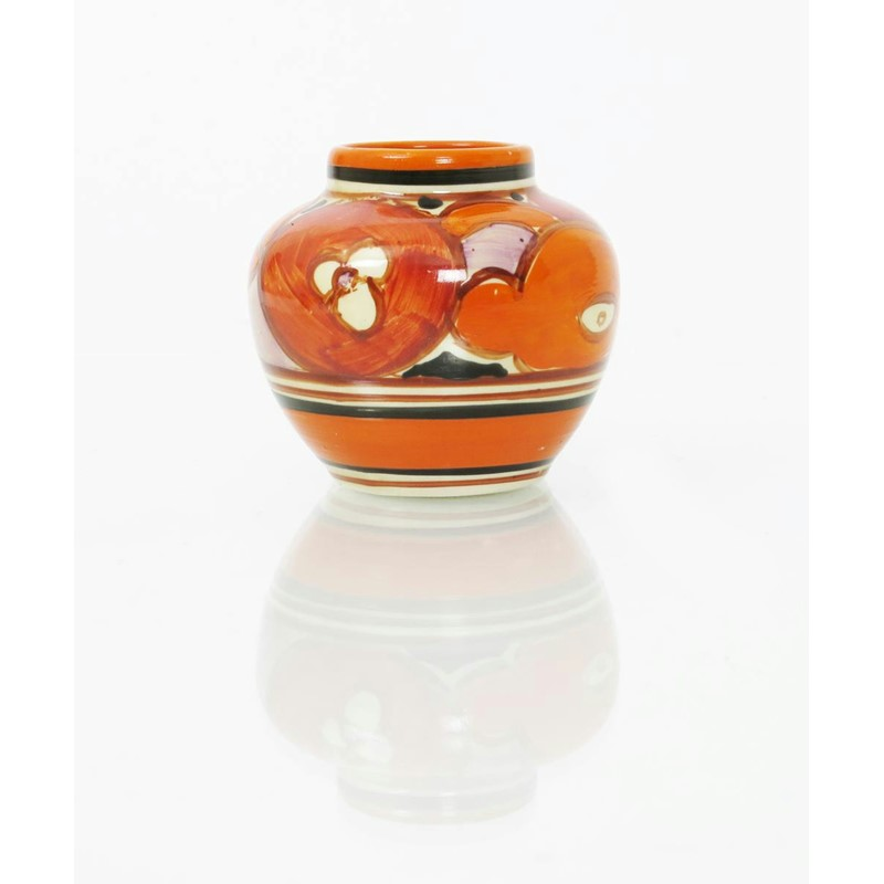 Sliced Fruit A Clarice Cliff Miniature Vase Woolley And Wallis